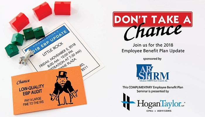 2018 Employee Benefit Plan Update